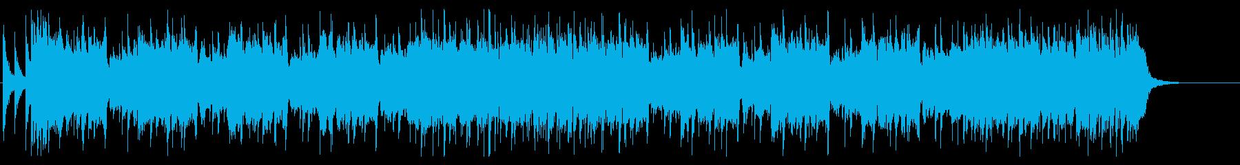 ロックギターリフ7の再生済みの波形