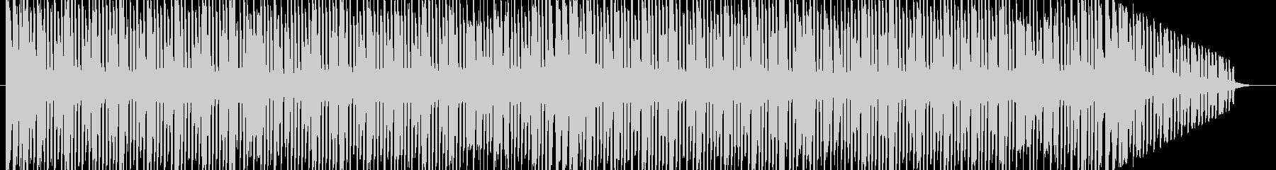 コミカルな曲調の曲ですの未再生の波形