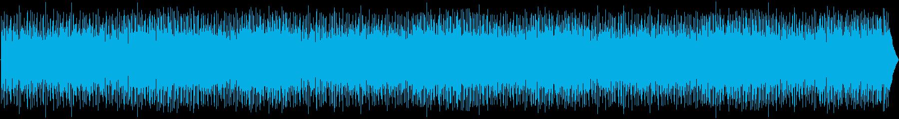ニューエイジ、ライトポップ、モチベ...の再生済みの波形
