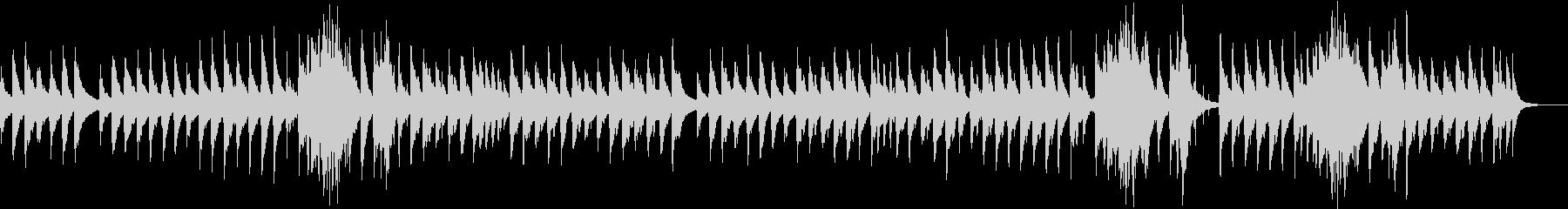 ハープの音色が優しく響きます。の未再生の波形