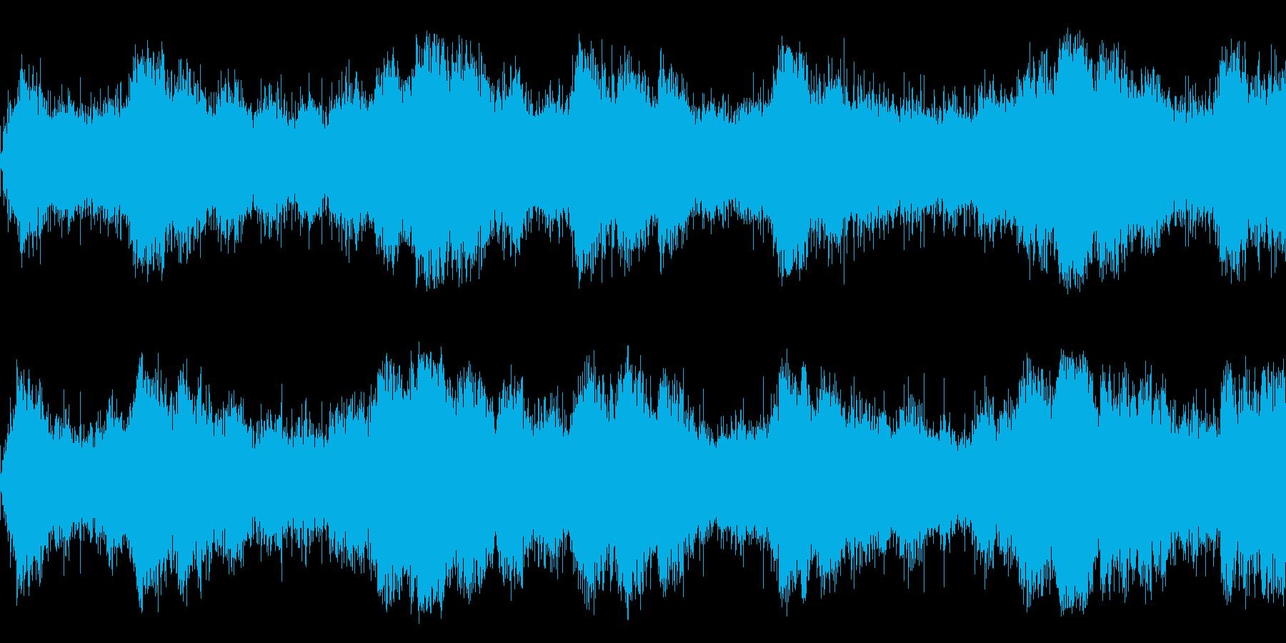 浮遊感のある宇宙っぽいアンビエントの再生済みの波形