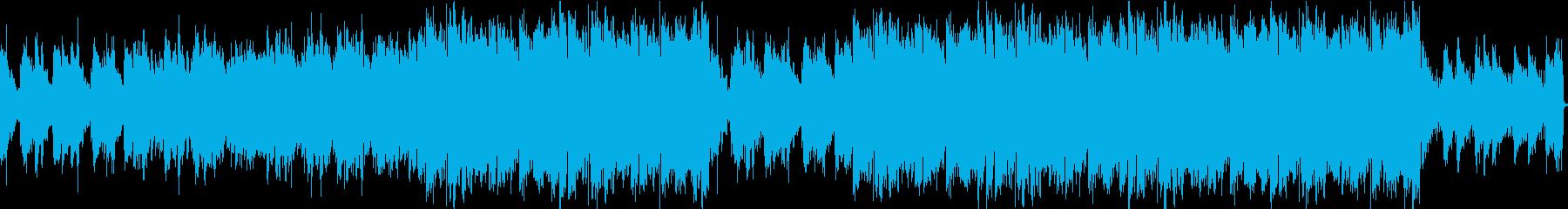 女性的でファッショナブルなネオトロピカルの再生済みの波形