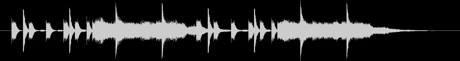 ヴァン・ヘイレン JUMP風のジングルの未再生の波形