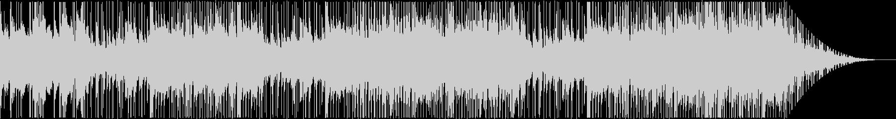 70年代風クラシックソウル系BGMの未再生の波形
