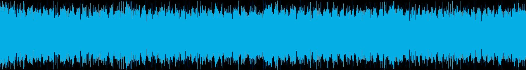 クールなFuture Bass(ループ)の再生済みの波形