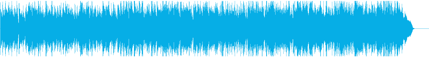 フルート生演奏 暖かく未来感あるボサノバの再生済みの波形