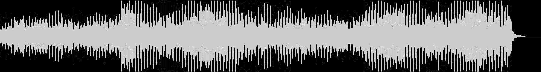 アコギとピアノ おしゃれで優しい映像用の未再生の波形