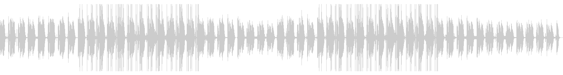 都会的 JazzyなLoFiHipHopの未再生の波形