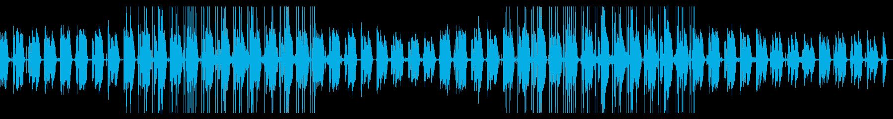 都会的 JazzyなLoFiHipHopの再生済みの波形