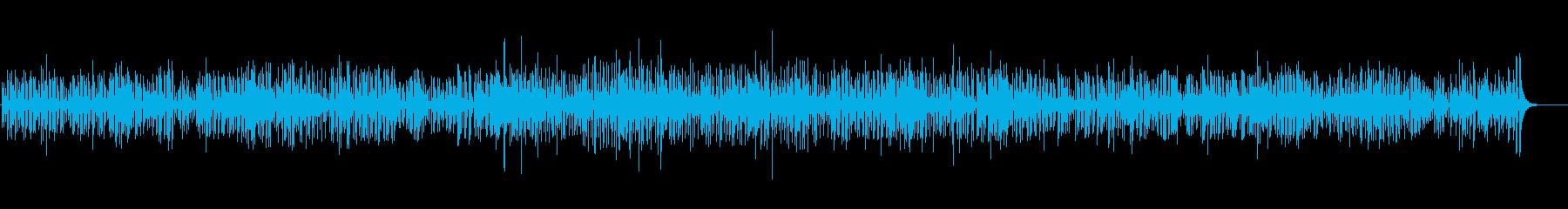 わくわくするジャズの再生済みの波形