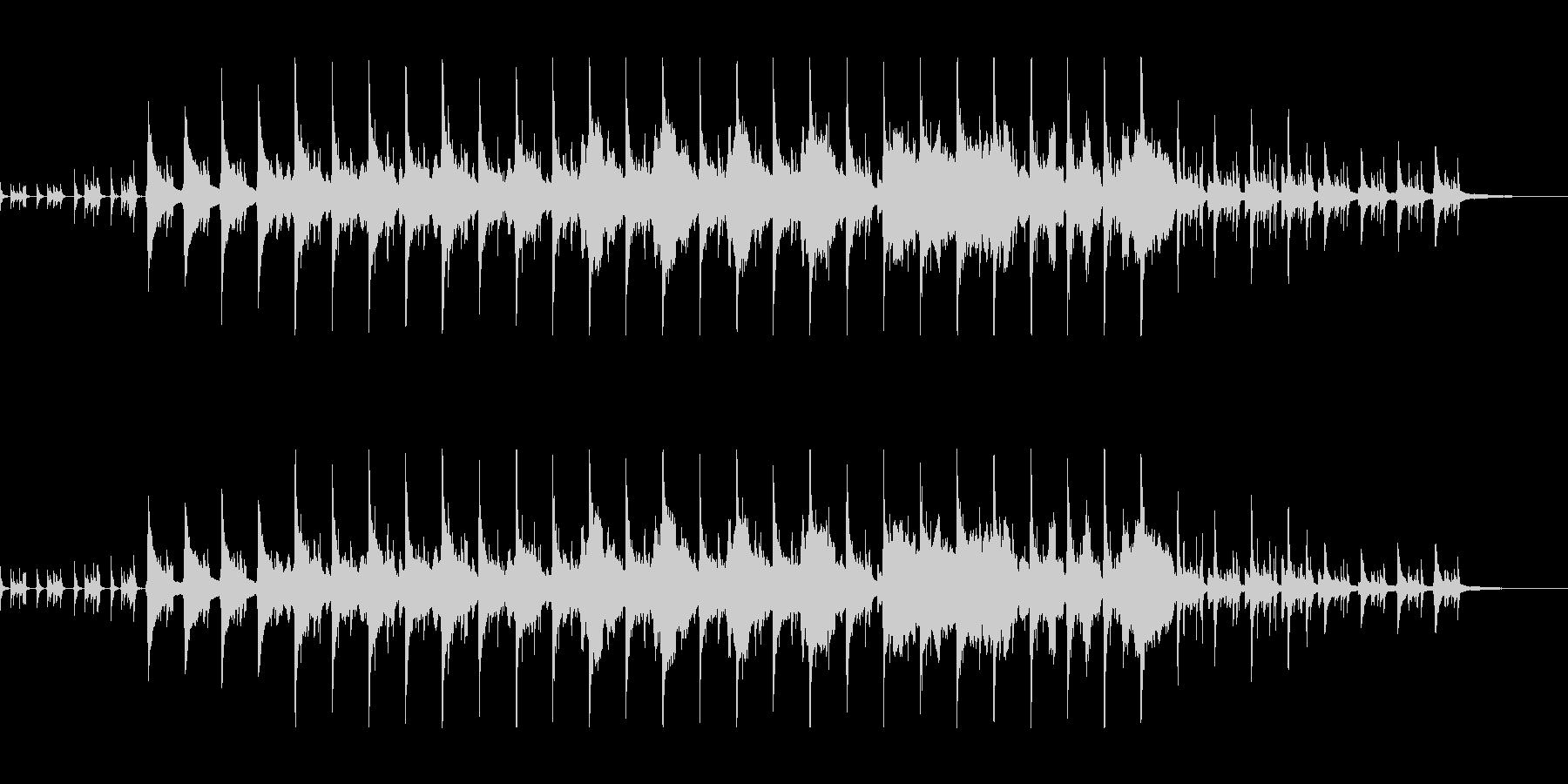 バイオリンのアコースティック・ポップスの未再生の波形