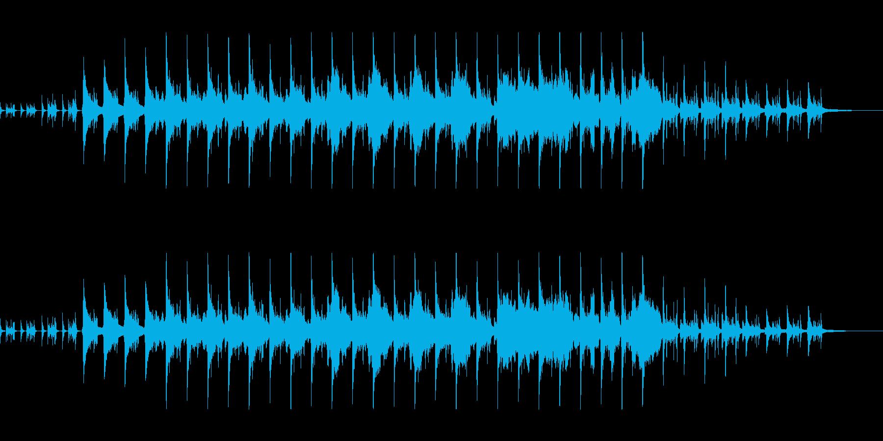 バイオリンのアコースティック・ポップスの再生済みの波形