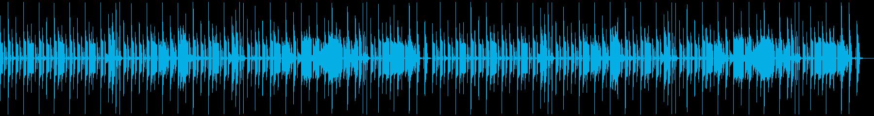 ご機嫌・朗らか(メロなし)2ループの再生済みの波形