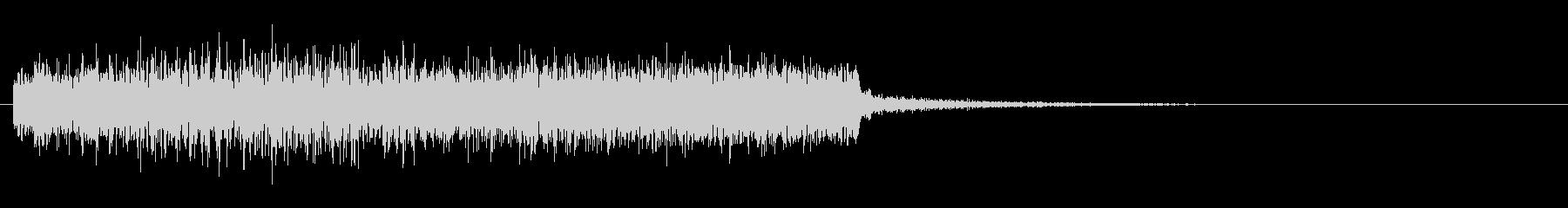 強めの風魔法の効果音(つむじ風有り)の未再生の波形
