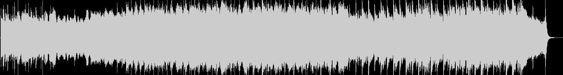 ケルトの儀式的な曲の未再生の波形