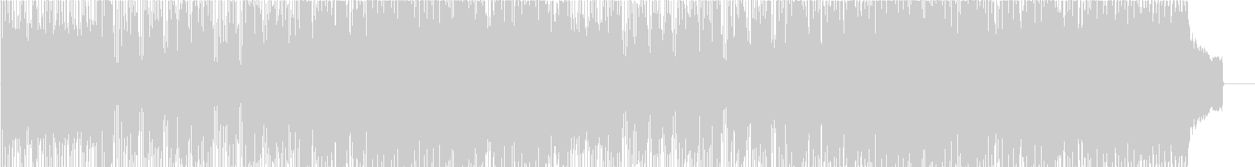 キケンなサマーブリーズの未再生の波形