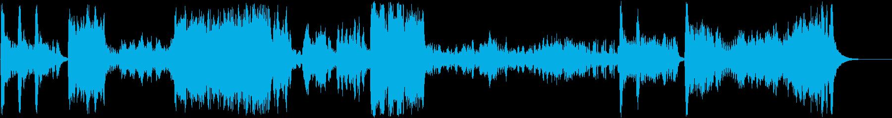 バイオリン協奏曲第3番第1楽章の再生済みの波形