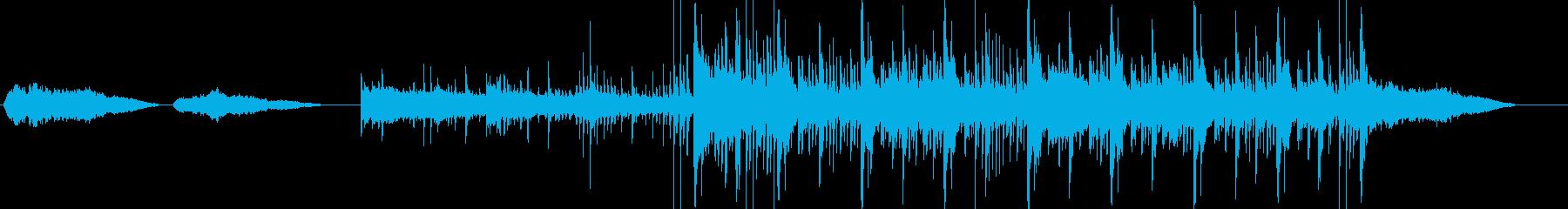 オリエンタル/アラビア文字の映画の...の再生済みの波形