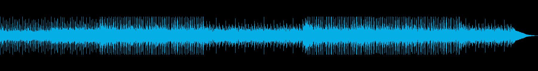 アコースティックギターの楽しい曲の再生済みの波形