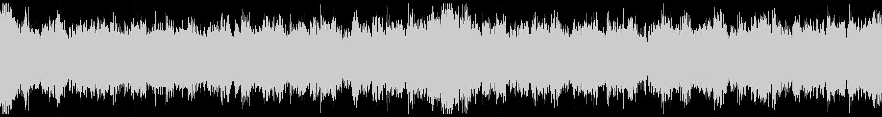 幻想的なピアノとストリングスの曲 ループの未再生の波形