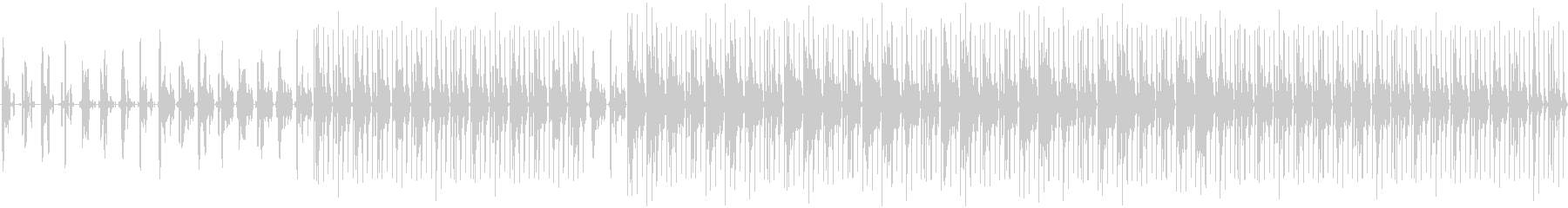 Deepなハウス系のループの未再生の波形