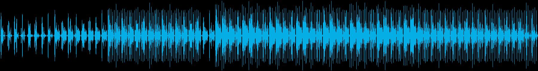Deepなハウス系のループの再生済みの波形