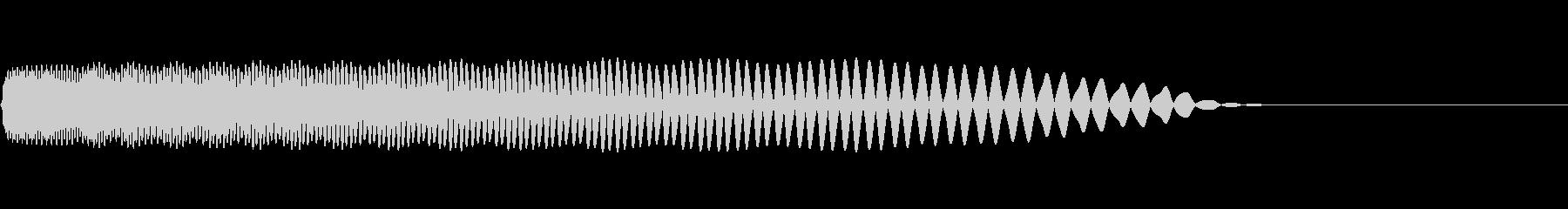 【SE 効果音】SF的な音12の未再生の波形