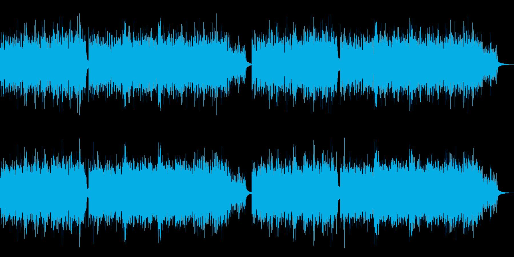 CMや映像作品に 静寂を感じるピアノソロの再生済みの波形