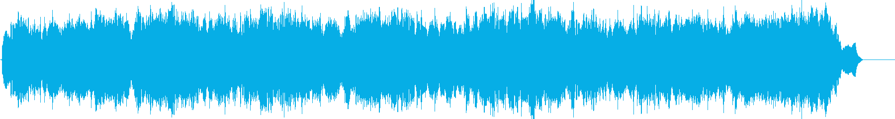 旋律が美しいバッハのコラール・カノンの再生済みの波形
