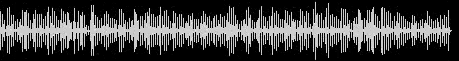 ほのぼの・マリンバ・かわいいの未再生の波形