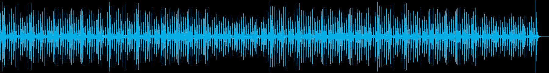 ほのぼの・マリンバ・かわいいの再生済みの波形