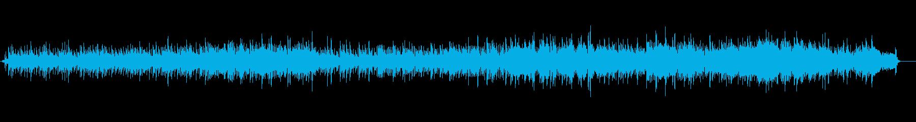 ほのぼのとしたアコースティックなナンバーの再生済みの波形