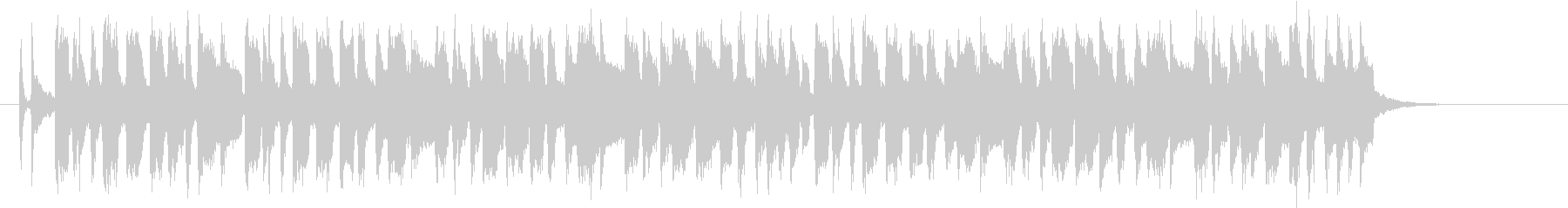 軽快で明るいポップスバンドのジングルの未再生の波形