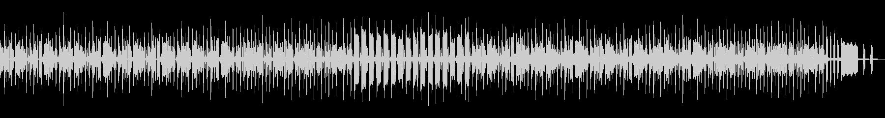 もちもちと歩く様な可愛いBGMの未再生の波形