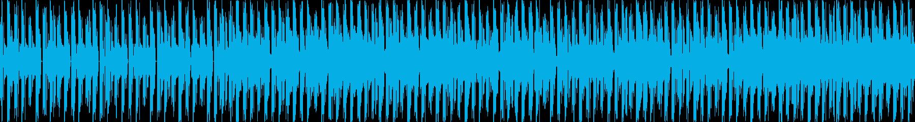 90年代シューティングゲーム風BGMの再生済みの波形
