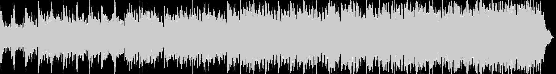 ストリングスで哀愁のあるキラキラメロディの未再生の波形