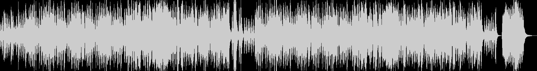 ほのぼの、フルート、ストリングスの未再生の波形