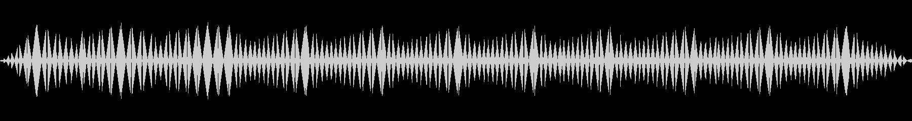 ビッ(ノイズ/警告/エラー/サイレンの未再生の波形