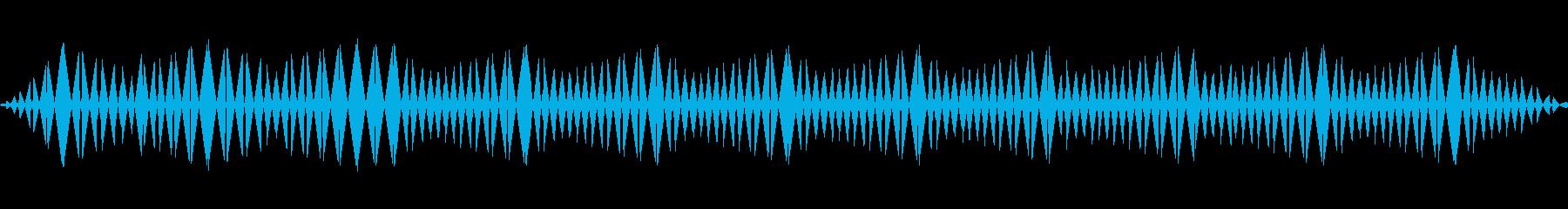 ビッ(ノイズ/警告/エラー/サイレンの再生済みの波形