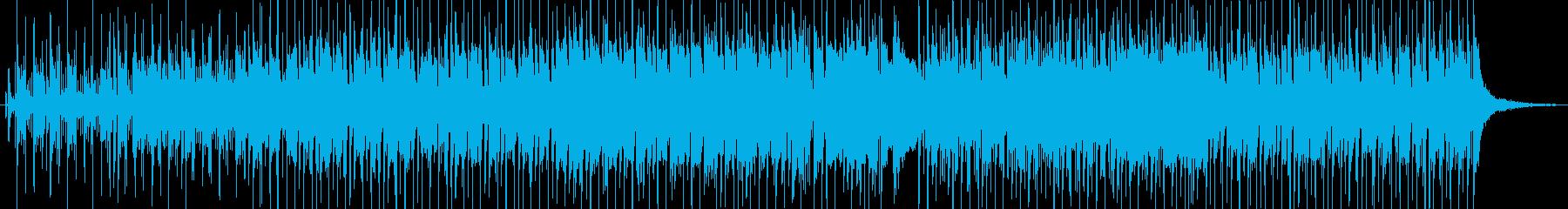 疾走感あるファンキーなナンバーの再生済みの波形
