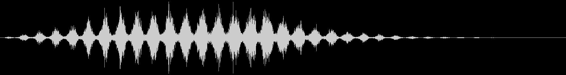 ワープ 短い(チュチュチュ…+サーッ)の未再生の波形