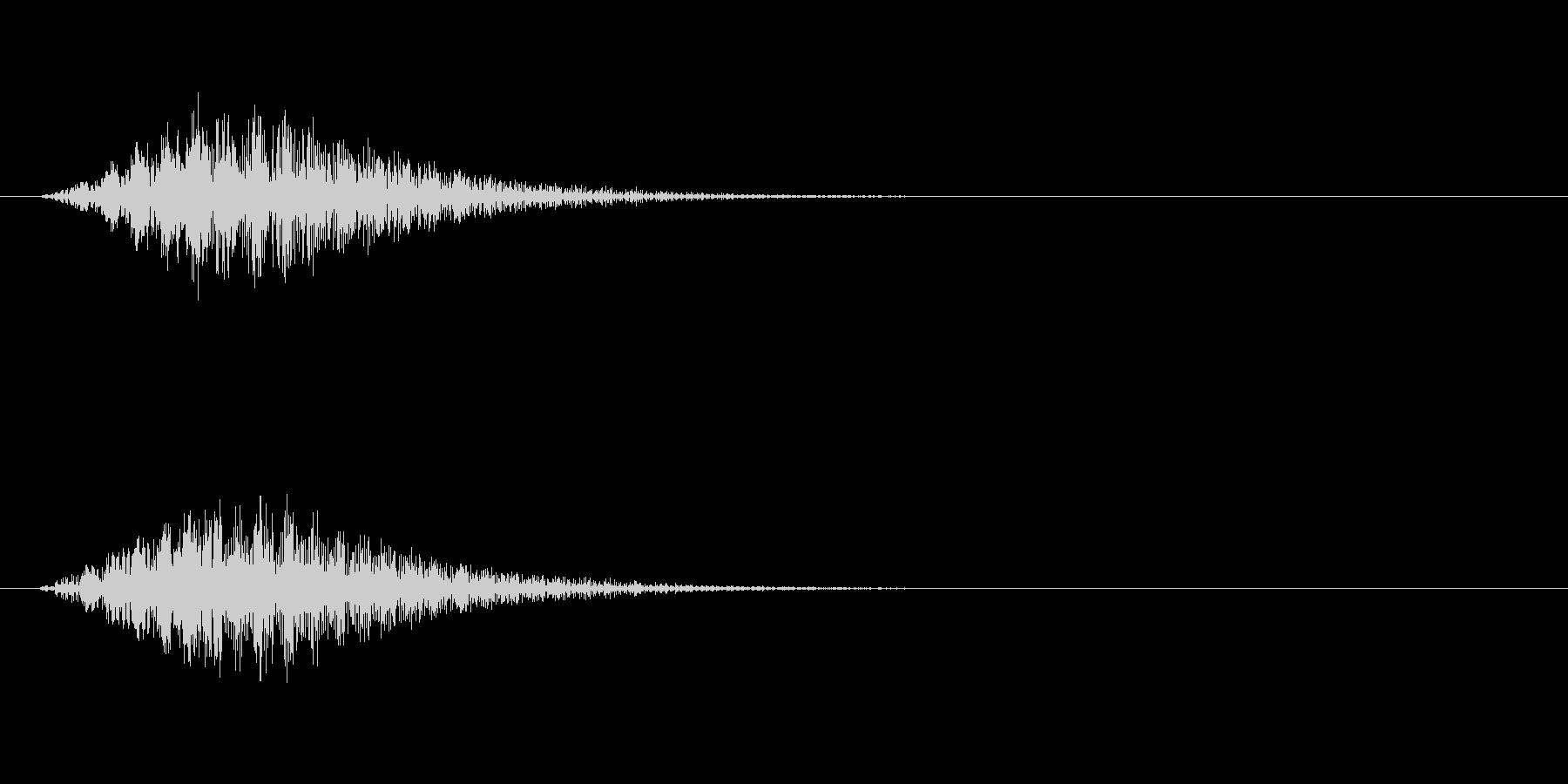 トランスポーターの未再生の波形
