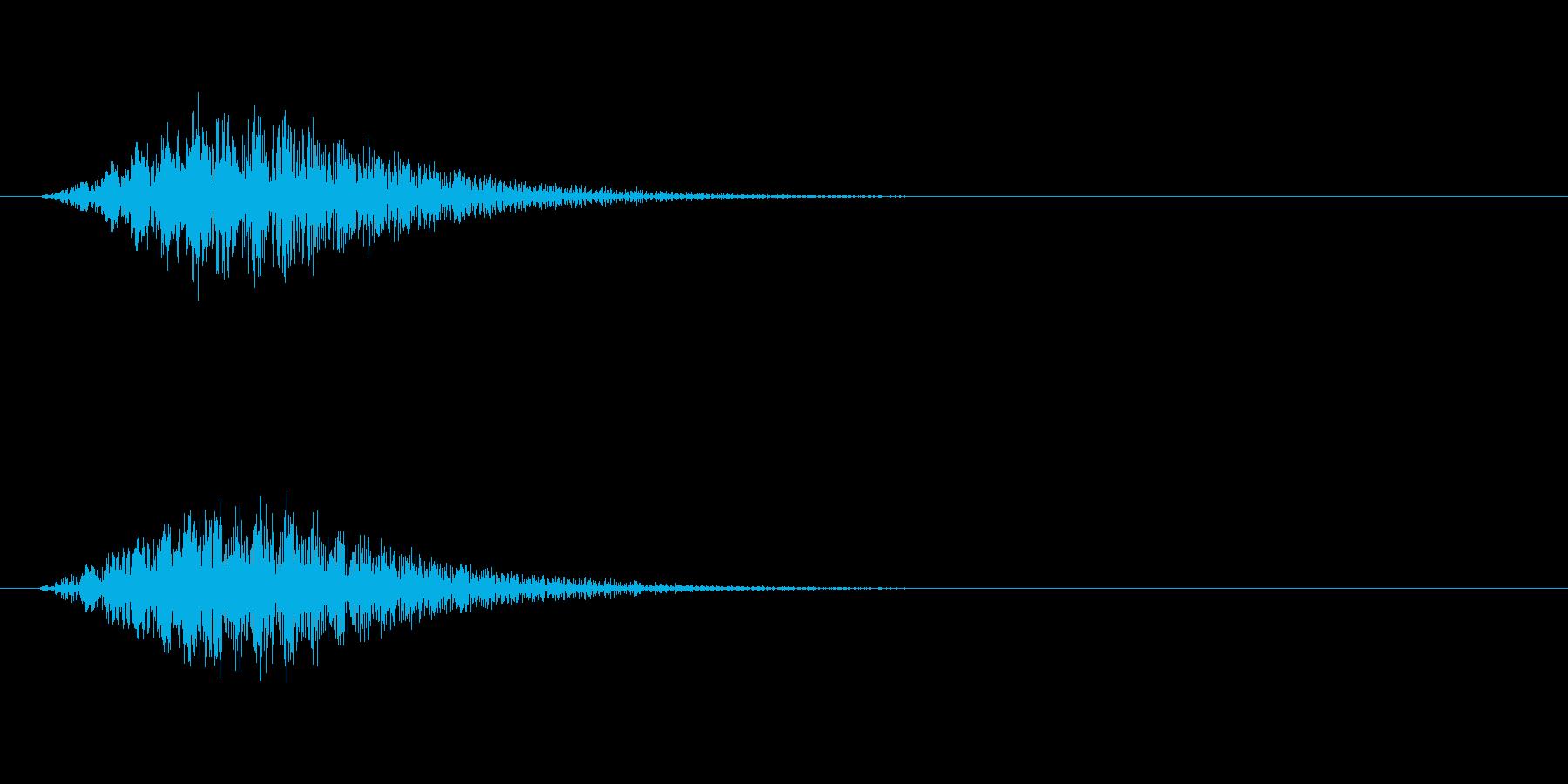 トランスポーターの再生済みの波形
