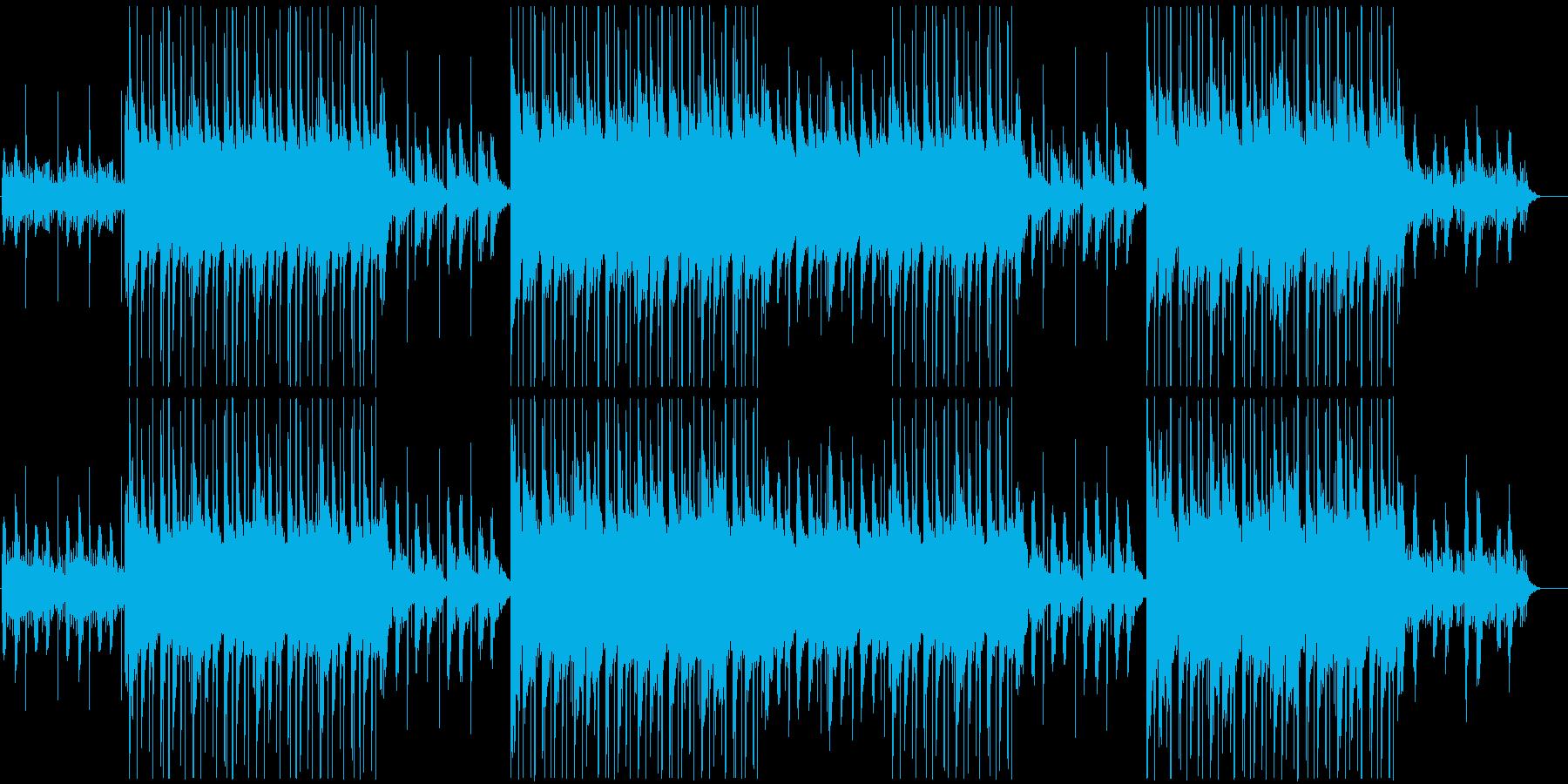 ローファイ、チルアウト、トラップソウル♪の再生済みの波形