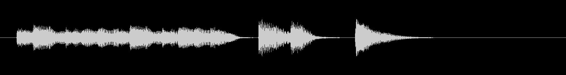 オチピアノ③ ズッコケ 場面転換の未再生の波形