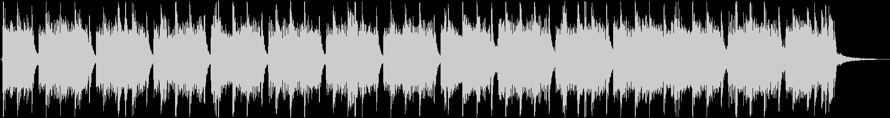 重低音がインパクトあるメロディーの未再生の波形