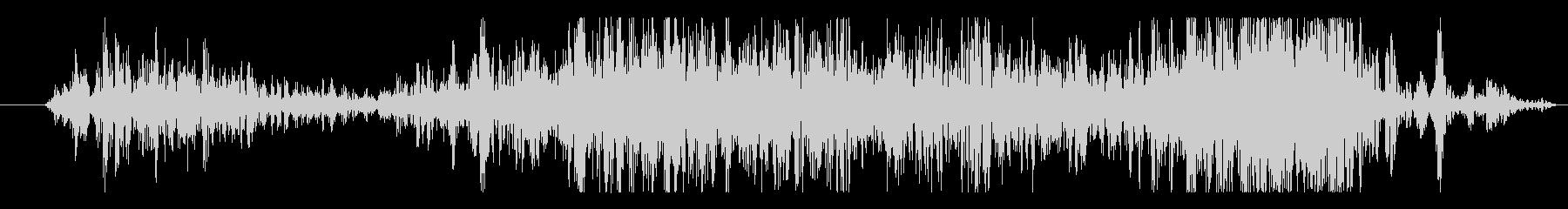 石 ゲートクローズ01の未再生の波形