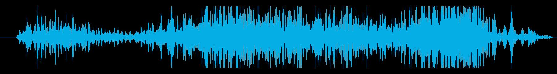 石 ゲートクローズ01の再生済みの波形