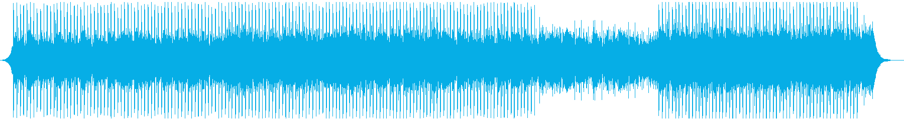 カンファレンスミュージックの再生済みの波形