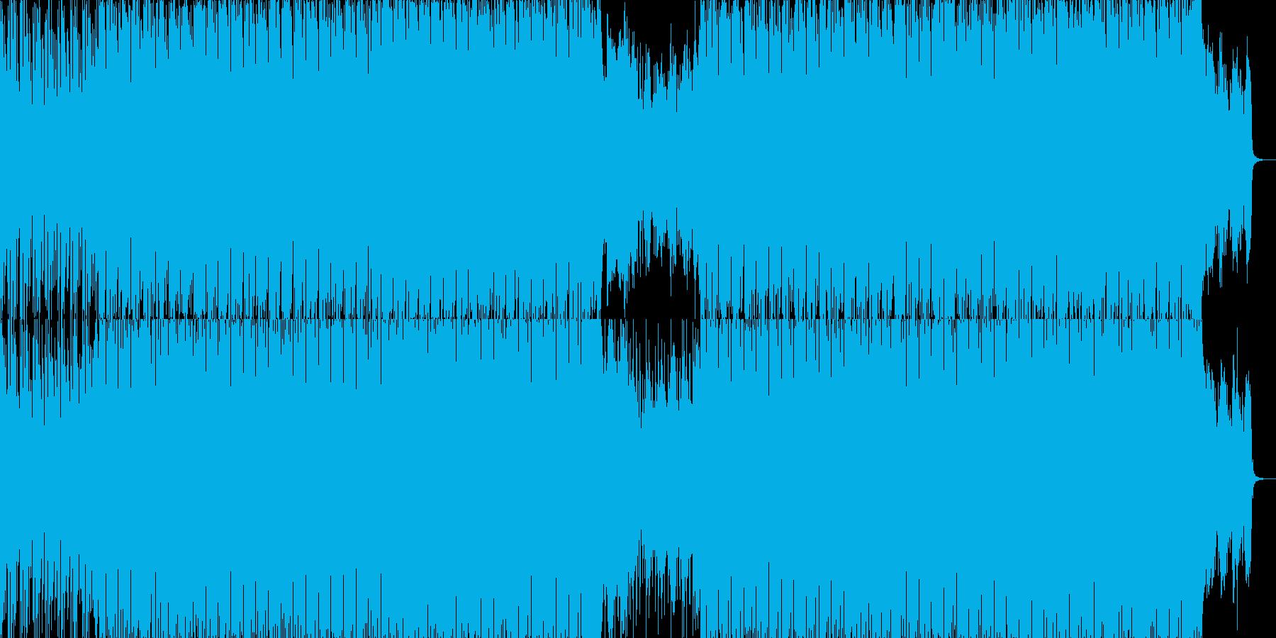 EDMクラブ系ダンスミュージック-65の再生済みの波形